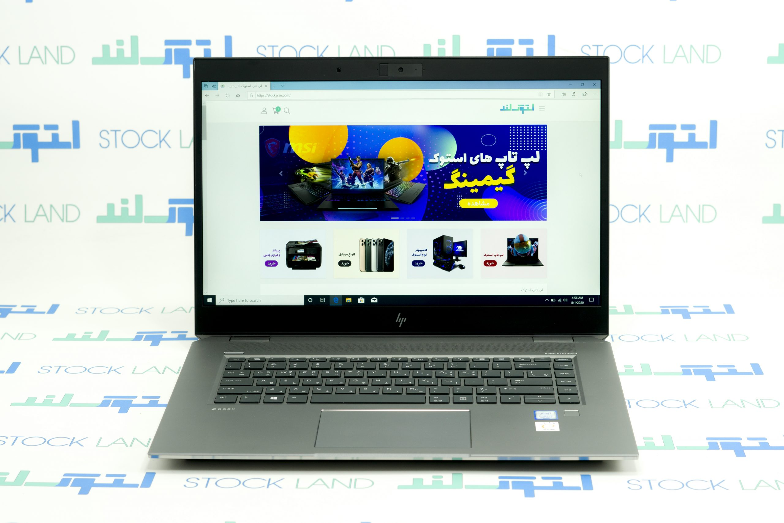 لپ تاپ اچ پی مدل ZBook Studio 15 G5 B