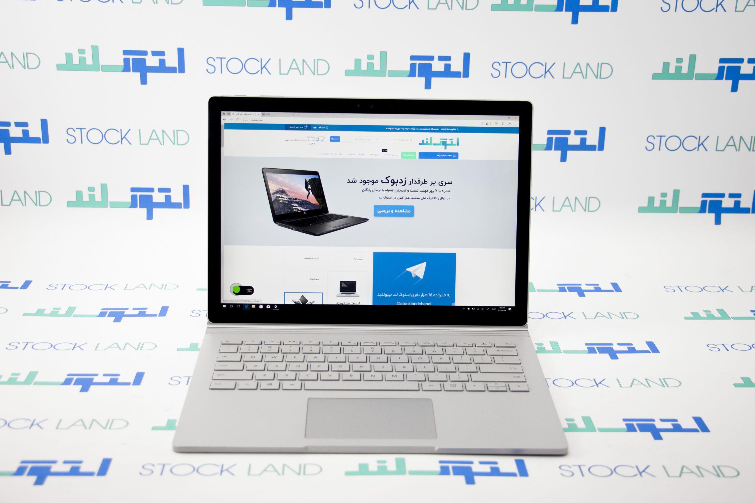 لپ تاپ مایکروسافت مدل Surface Book 1 D