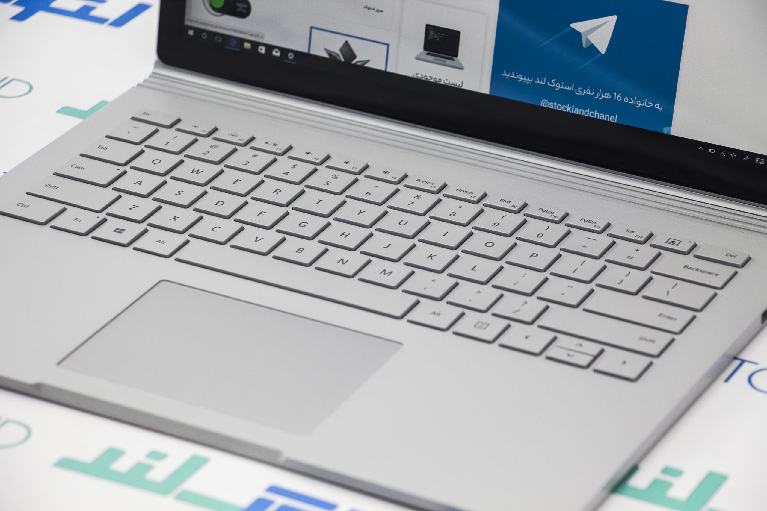 لپ تاپ مایکروسافت مدل Surface Book 2 A