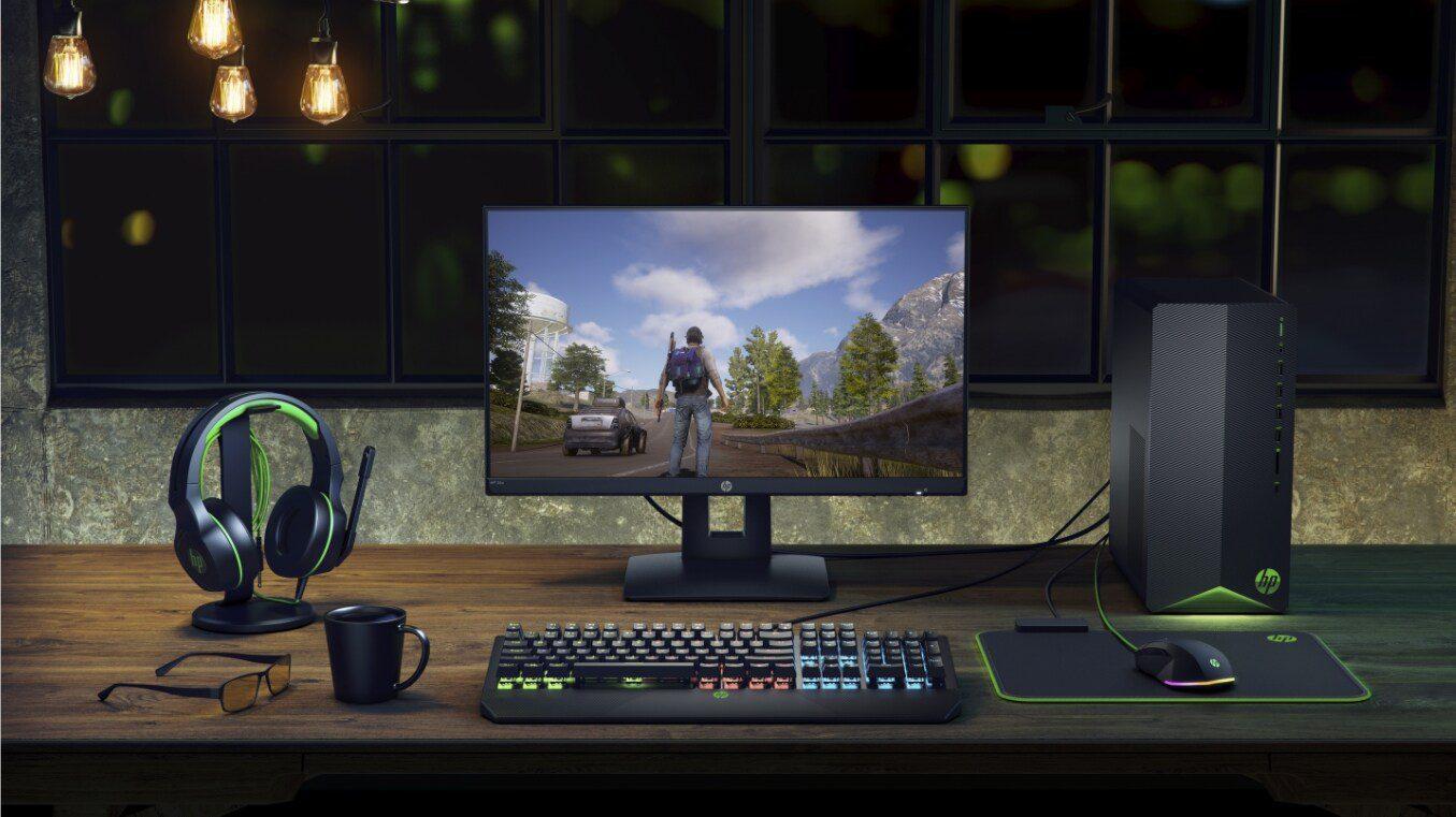 دسکتاپ HP مدل Pavilon Gaming TG01 F