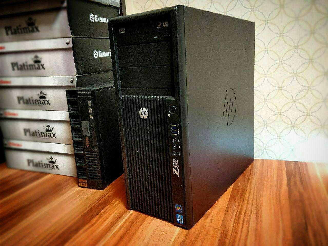 دسکتاپ HP مدل Z420 WorkStation